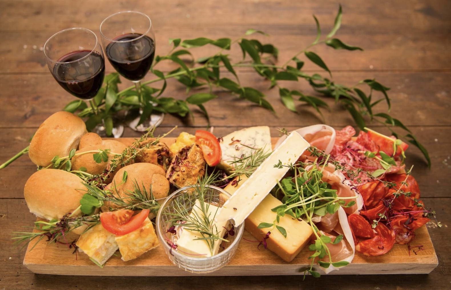 evening food ideas northside farm wedding grazing table
