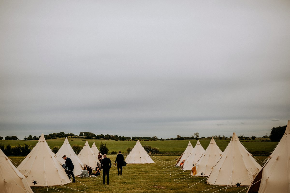 northern star teepees at northside farm northumberland