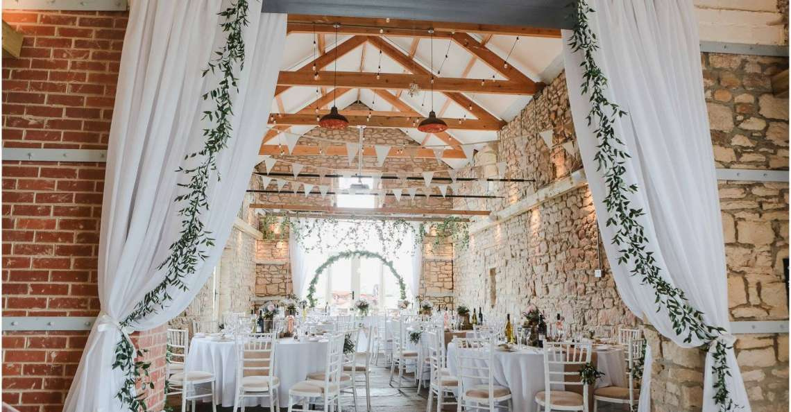 barn wedding venue in northumberland
