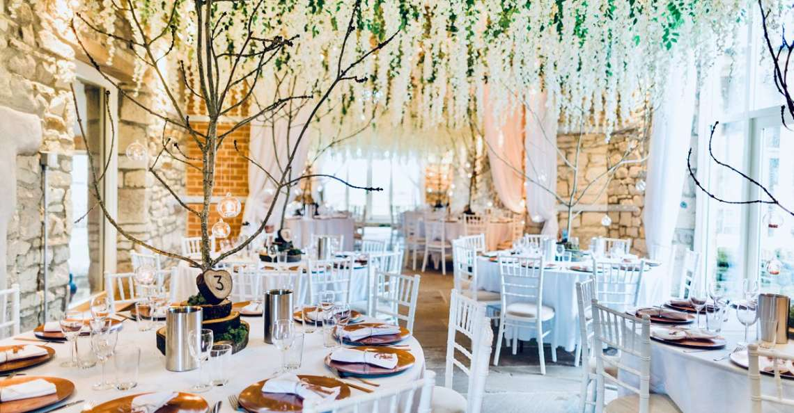autumn barn wedding northside farm wisteria