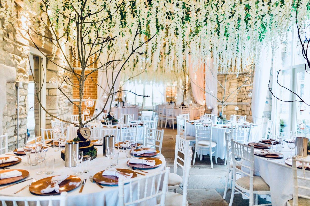 autumn barn wedding northside farm wisteria